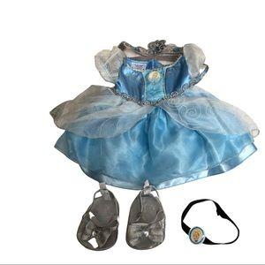 Build A Bear workshop Cinderella princess outfit